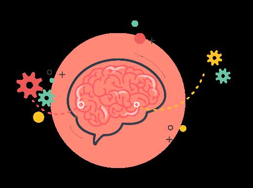 illustration rouages  neuropsychologie