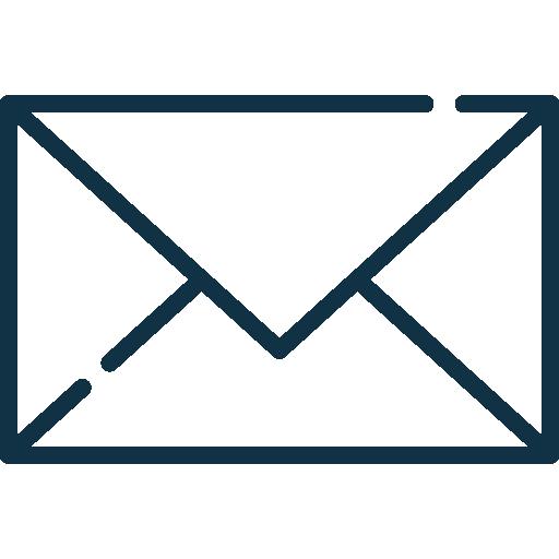 icône enveloppe pour l'envoi d'email
